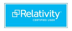 relativity certified user