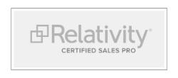 relativity certified sales pro